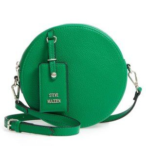 NWT Steve Madden Pebbled Faux Leather Canteen Bag